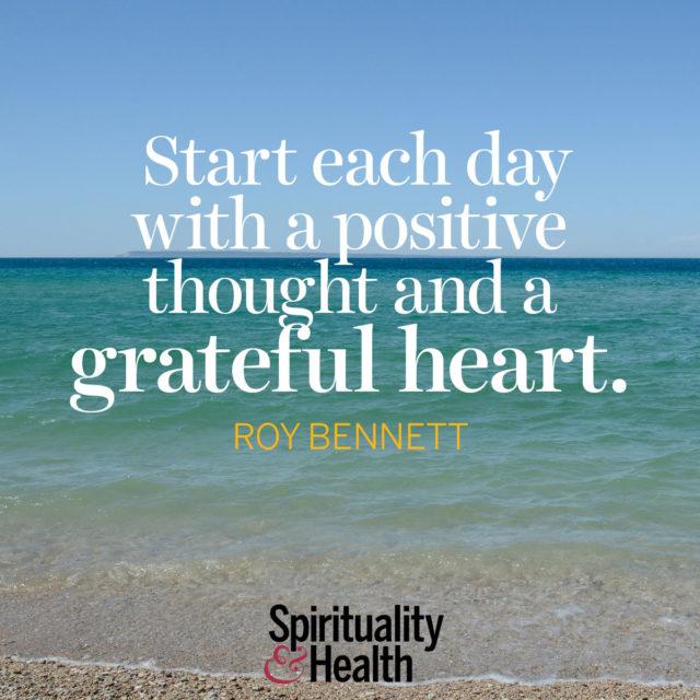 Roy Bennett On Gratitude Spirituality Health