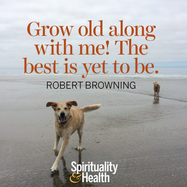 Robert Browning on getting older