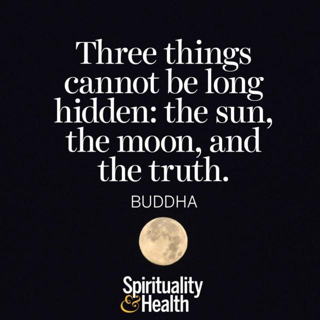 Buddha on truth.
