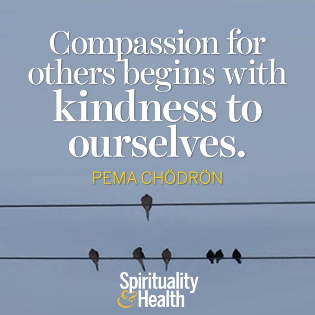 Pema Chödrön on kindness and compassion