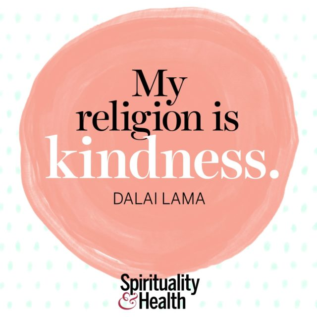 The Dalai Lama on the heart of religion