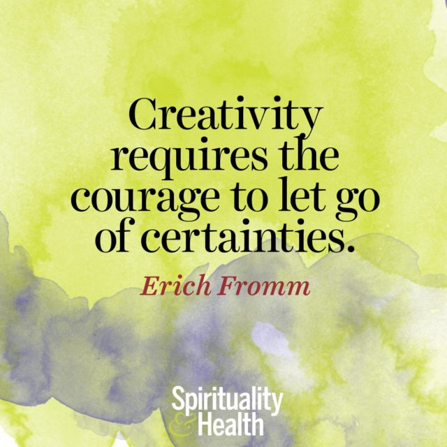 Erich Fromm on embracing the flow.