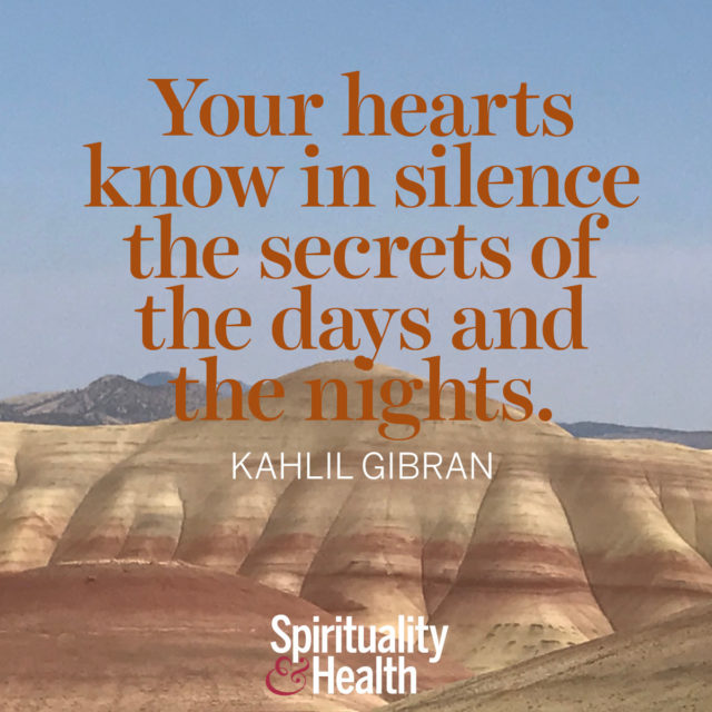 Kahlil Gibran on inner knowing