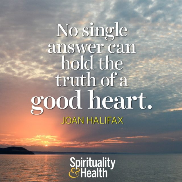 Joan Halifax on truth and integrity