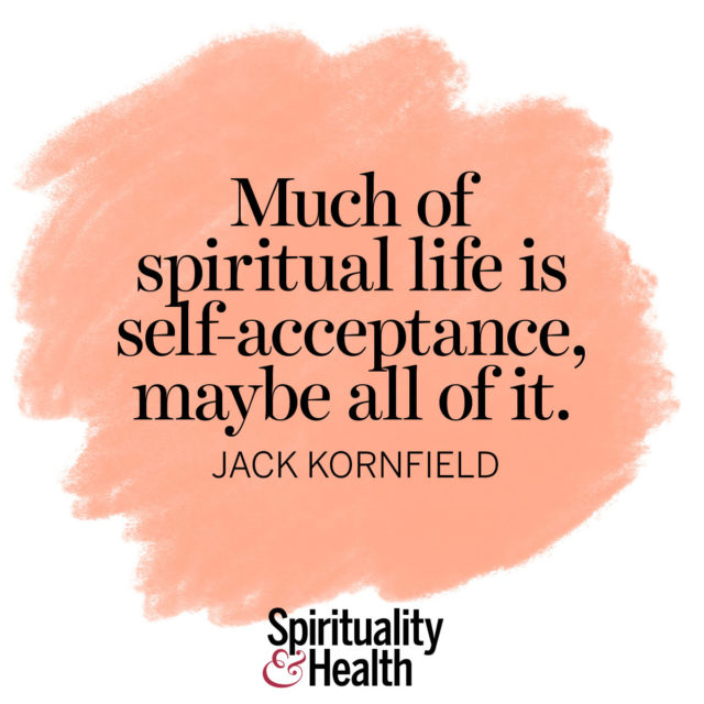 Jack Kornfield on self-acceptance