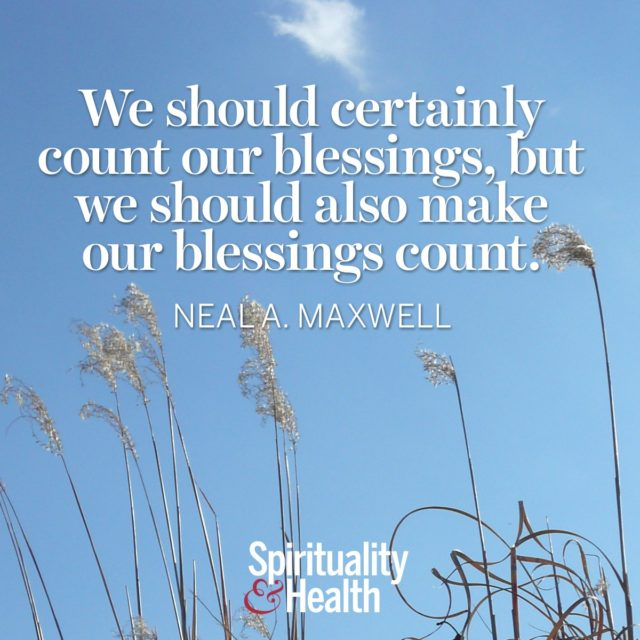 Neala Maxwell on using our gifts