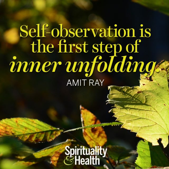 Amit Ray on revealing the self.