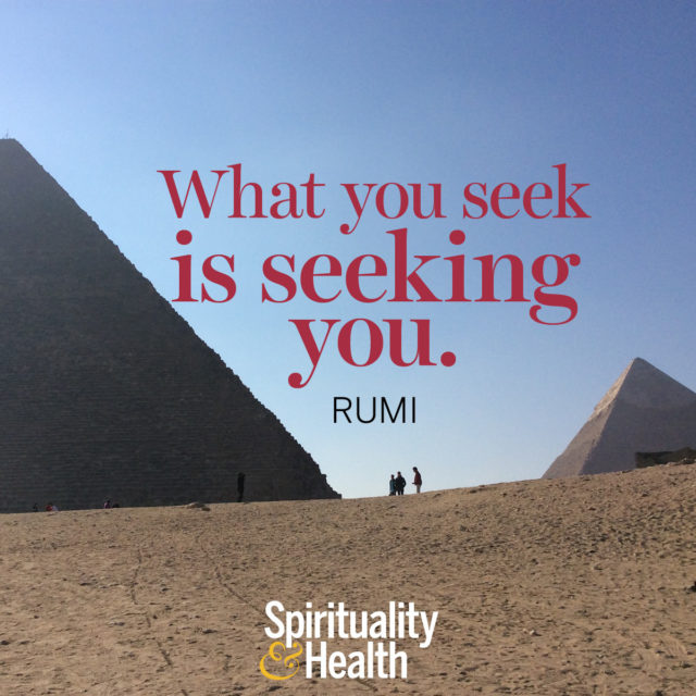 Rumi on destiny