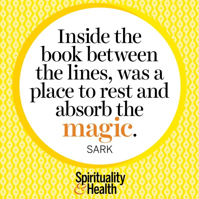 SARK on magic in the inbetween