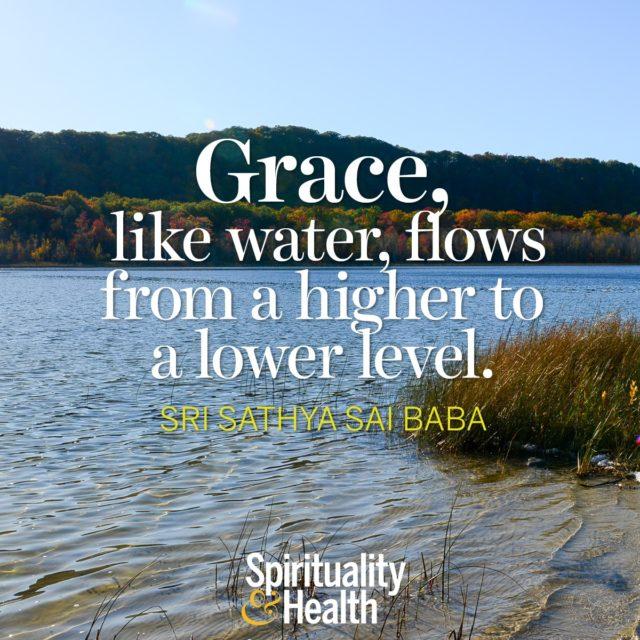 Sri Sathya Sai Baba on Grace