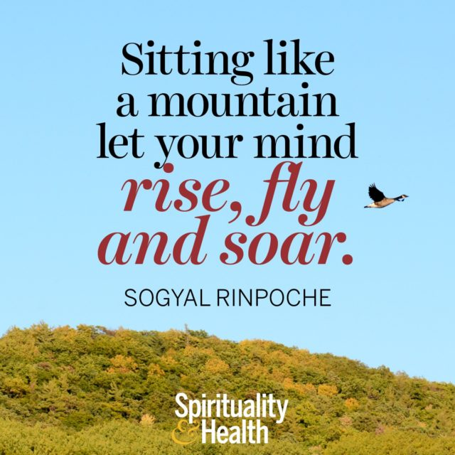 Sogyal Rinpoche on expanding your mind