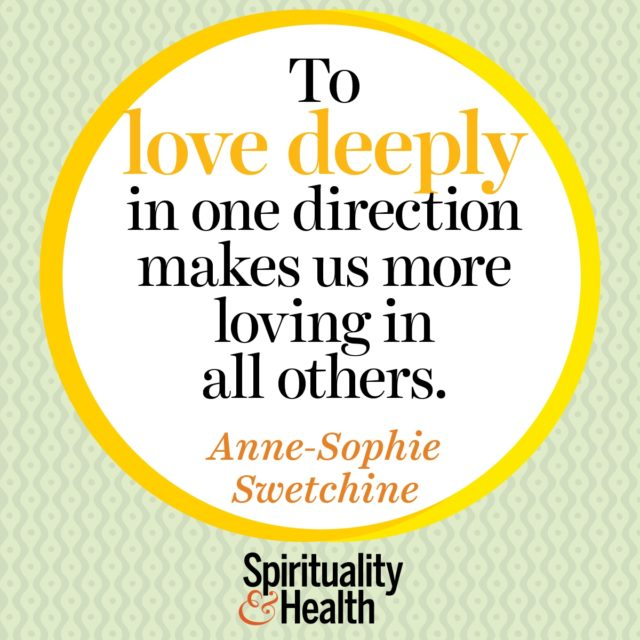 Anne-Sophie Swetchine on love