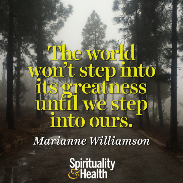 Marianne Williamson on Greatness