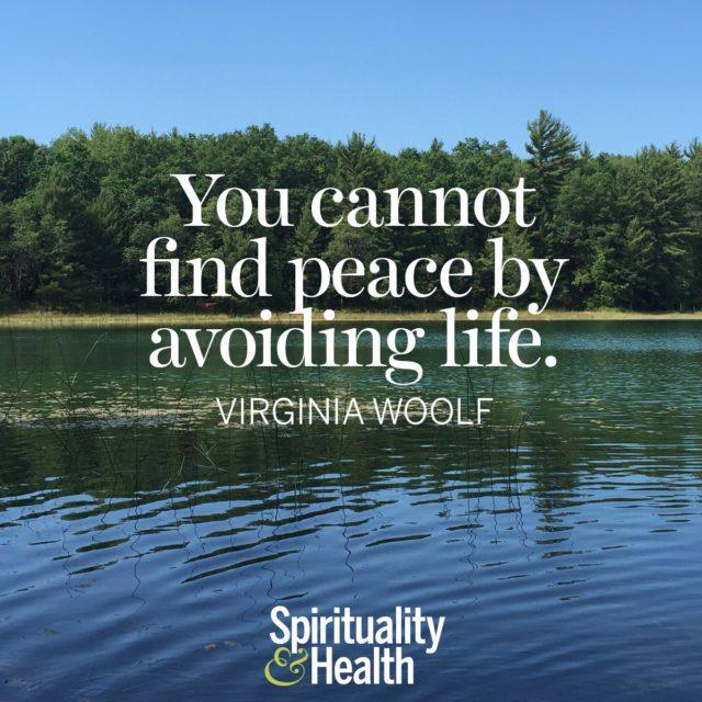 Virginia Woolf on Peace.