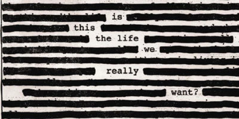 Cover of Roger Waters new album