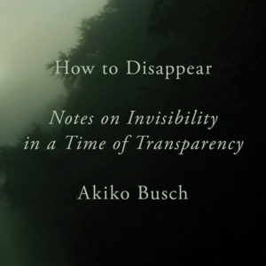 How to Disappear book cover