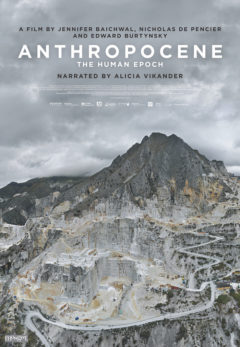 A poster for the movie Anthropocene