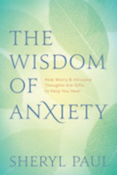 Wisdom of Anxiety book cover