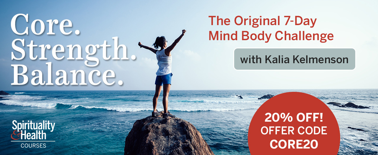 Core Strength Balance - The Original 7-Day Mind Body Challenge. Use code CORE20 for 20% off.