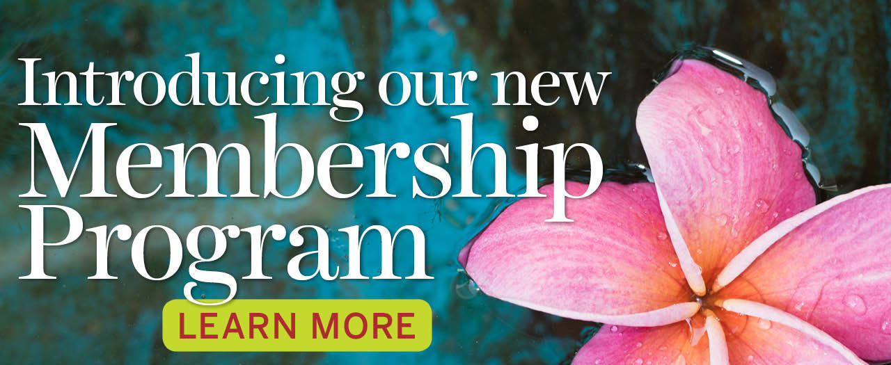 Introducing Our New Membership Program
