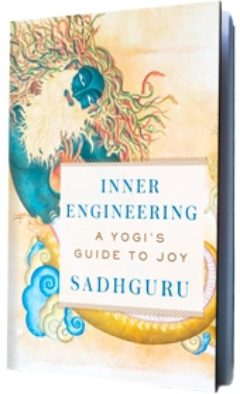 Cover image of Inner Engineering, A Yogi's Guide to Joy