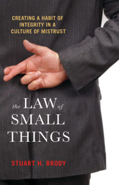 The Law of Small Things - book cover