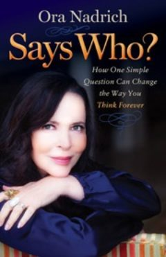 Cover image of Says Who? by Ora Nadich