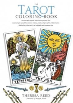 Cover image of The Tarot Coloring Book