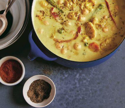 Anti Inflammatory Chickpea Curry