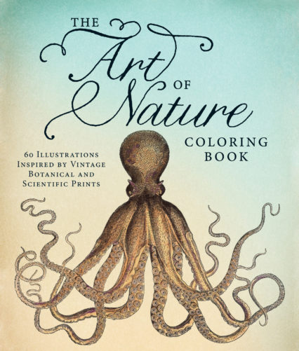Art Of Nature Coloring Book Cover High Res