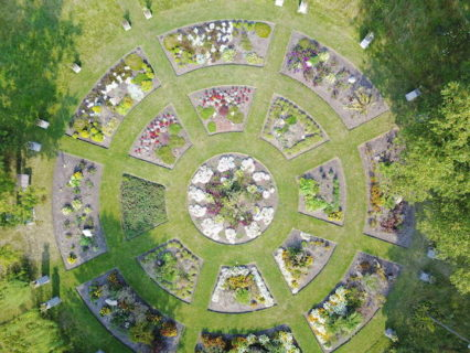 Compassion Cell Garden From Above