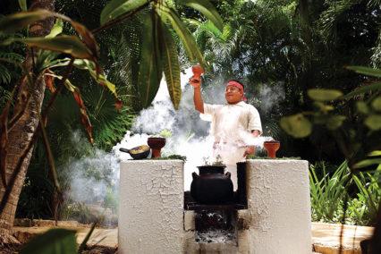 Resident Shaman At Viceory Riviera Maya