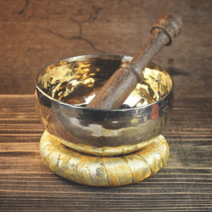 Small Polished Singing Bowl