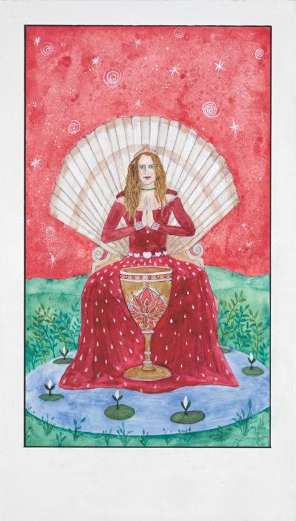 The Radiant Tarot Queen Of Cups Credit Alexandra Eldridge Copy