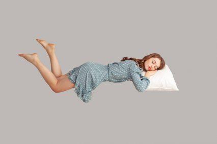 Sleep gadgets floating girl Khosrork