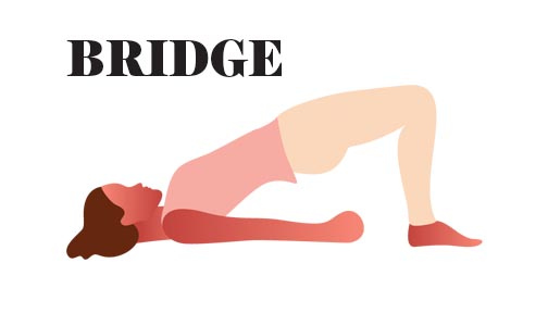 Bridge Yoga for Tight Shoulders