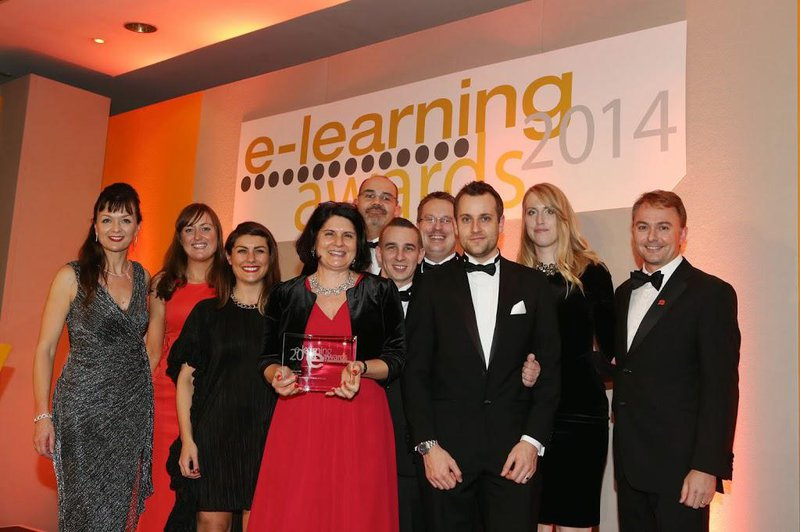 Judges at the Elearning Awards, who named Sponge Elearning Development Company of the Year, said they were impressed by Sponge's customer focus.
