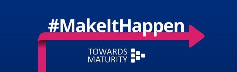 Towards Maturity #MakeItHappen logo