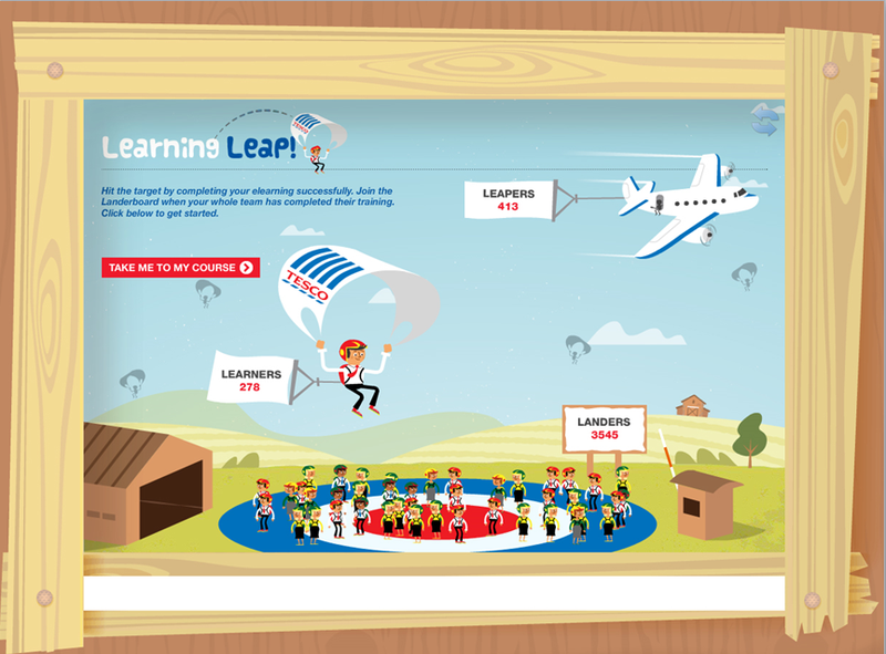 Sponge Uk will reveal tesco's Learning Leap elearning programme at Compliance Week Europe Conference