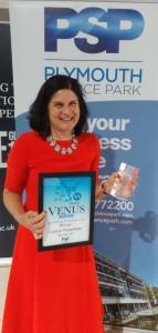 Venus Winner Louise Pasterfield
