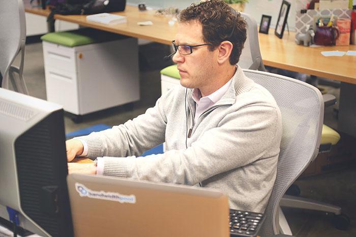 Create Global eLearning - Man working