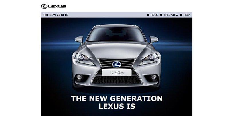 Lexus elearning screenshot