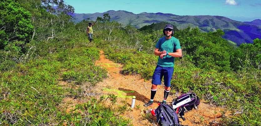 Pour le tracé, Challenge organisation a innové, avec l'aide des tribus environnantes. Photo Challenge organisation