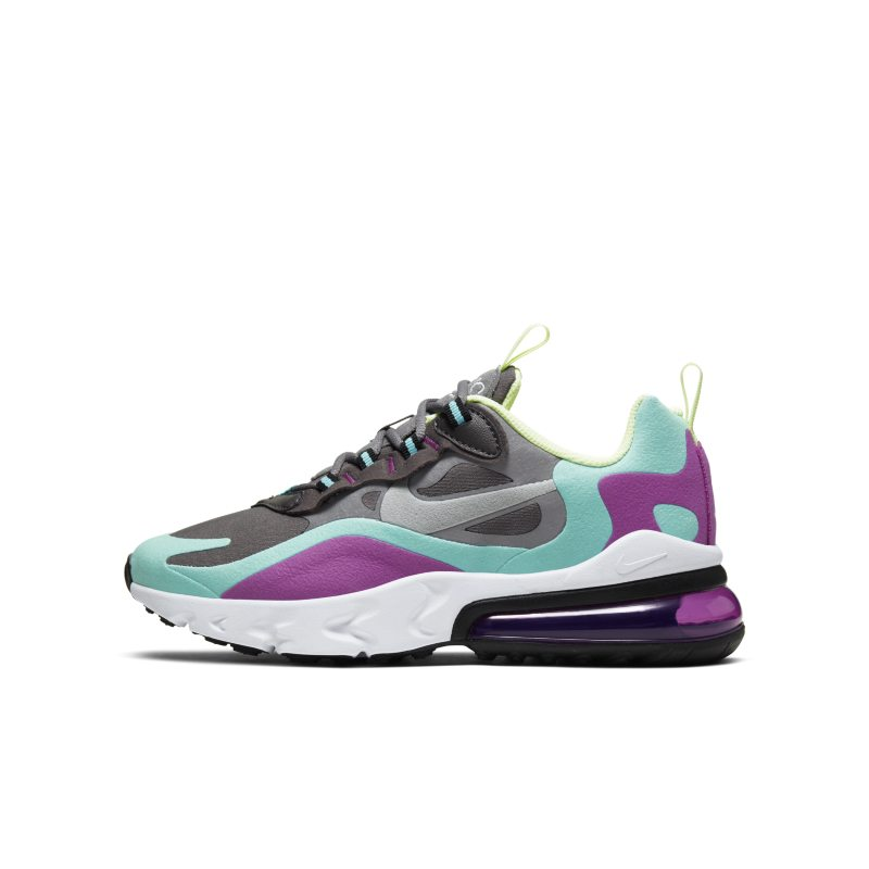 Nike Air Max 270 React Older Kids' Shoe - Grey
