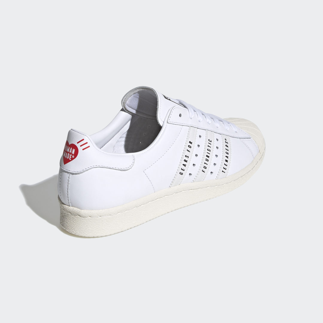 adidas Superstar 80s Human Made FY0730 02