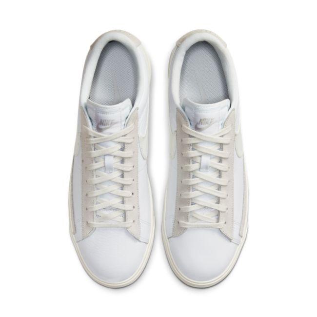 Nike Blazer Low Leather CW7585-100 02