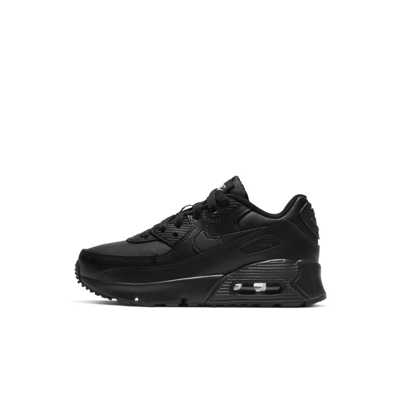Nike Air Max 90 Younger Kids' Shoe - Black