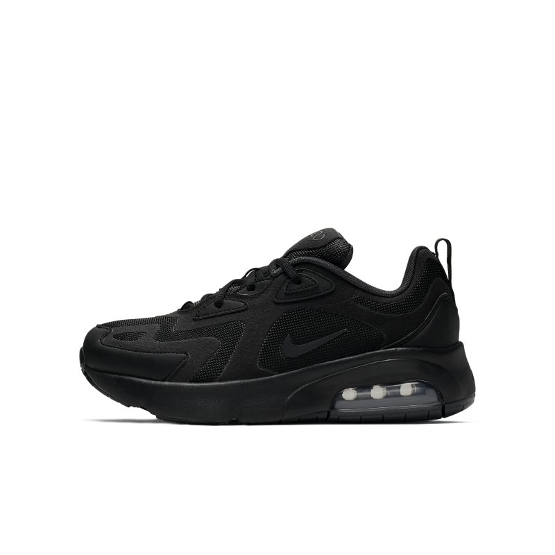 Nike Air Max 200 Older Kids' Shoe - Black