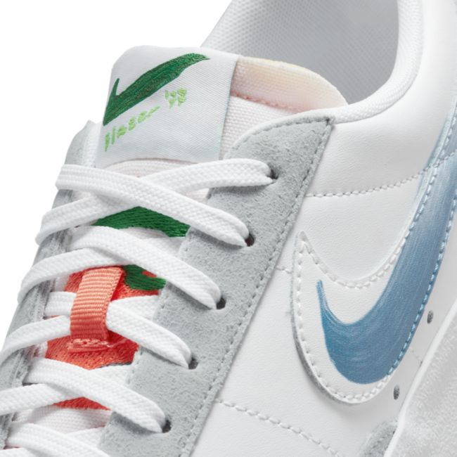 Nike Flyleather Blazer Low '77 DM0882-100 04