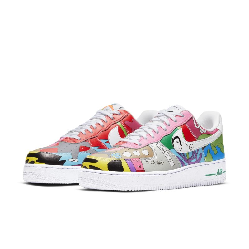 Nike Air Force 1 Flyleather CZ3990-900 02